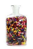 Jar of Pills Royalty Free Stock Photography