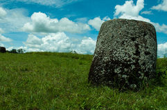 Jar in the Plain of Jars stock images