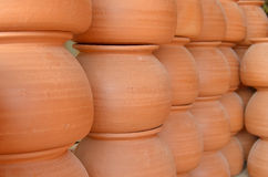 Jar pottery Royalty Free Stock Photo