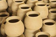 Jar pottery Royalty Free Stock Photography
