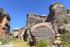 Jar przy Itas miastem, Torotoro park narodowy w Potosi, Boliwia obraz stock