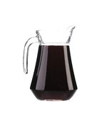 Jar of red wine. Royalty Free Stock Photo