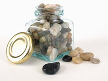 Jar of Rocks Stock Images