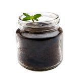 Jar of seedling Royalty Free Stock Photos