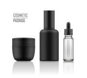 Jar, serum, essence in vial Stock Images