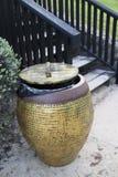 Jar-shaped bin Stock Images