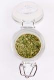 Jar with spices Stock Photos