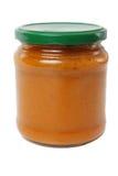 Jar of squash spread Stock Photo