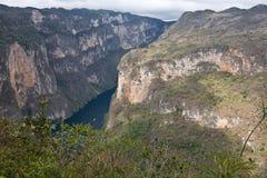 Jar Sumidero, Chiapas, Meksyk Zdjęcie Stock