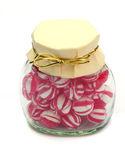 Jar of sweets Royalty Free Stock Photos