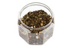 Jar With Tea Stock Image