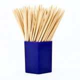 Jar of Tooth Picks Royalty Free Stock Photography