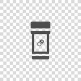 Jar vector icon Royalty Free Stock Images