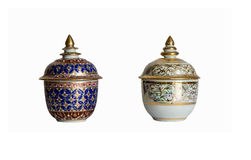 Jar. Ware,Souvenirs made of pottery Royalty Free Stock Images