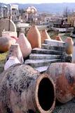 Jar yard. Old material yard in France Royalty Free Stock Photo