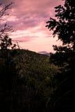 Jar zatoczki góry Fotografia Stock