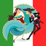 Jarabe Mexico National Dance Mexican Hat Dance Royalty Free Stock Photo