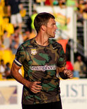 Jarad Van Schaik, Midfielder, Charleston Battery. Charleston Battery midfielder Jarad Van Schaik #14 Royalty Free Stock Photo