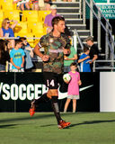 Jarad Van Schaik, Midfielder, Charleston Battery. Charleston Battery midfielder Jarad Van Schaik #14 Royalty Free Stock Photography