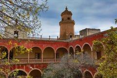 Jaral de berrio hacienda mexico royalty free stock image