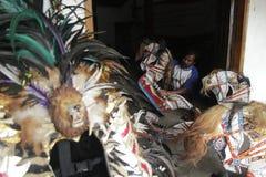 Jaran Kepang taniec Fotografia Royalty Free