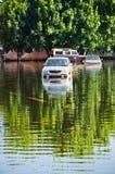 Jaransanitwong Road during the worst flooding Stock Image