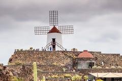 JardÃn de Kaktus de Lanzarote royaltyfri fotografi