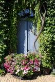 Jardín único en Bélgica Fotografía de archivo