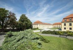 Jardín adyacente al castillo Bratislava Eslovaquia Europa Imagen de archivo libre de regalías