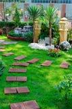 Jardín agradable adornado Foto de archivo