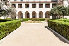 Jardín ajardinado formal Foto de archivo libre de regalías