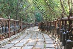 Jardín al aire libre Tailandia Fotos de archivo libres de regalías