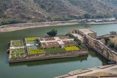 Jardín ambarino del fuerte Imagenes de archivo