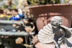 Jardín Angel March imagen de archivo