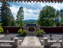 Jardín asiático Imágenes de archivo libres de regalías