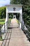 Jardín barroco histórico del castillo Anholt en Alemania Imagen de archivo libre de regalías