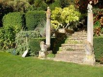 Jardín bien guardado foto de archivo