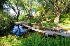 Jardín botánico Fotografía de archivo