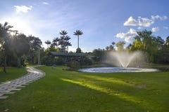 Jardín botánico Imagen de archivo