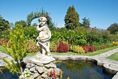 Jardín botánico agradable Imagen de archivo libre de regalías