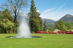 Jardín botánico agradable Fotografía de archivo libre de regalías
