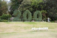 Jardín botánico celebración de 200 años Imagenes de archivo