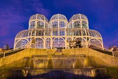 Jardín botánico, Curitiba, el Brasil Imagen de archivo