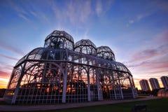 Jardín botánico, Curitiba, el Brasil Imagenes de archivo