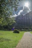 Jardín botánico de Ciudad del Cabo fotografía de archivo