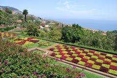 Jardín botánico de Funchal en Madeira Fotografía de archivo libre de regalías