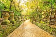 Jardín botánico de Kasuga Taisha foto de archivo