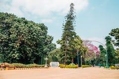 Jardín botánico de Lalbagh en Bangalore, la India Fotos de archivo