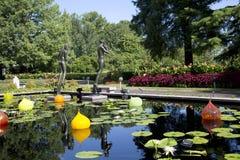 Jardín botánico de Missouri en ST Louis MO los E.E.U.U. de la ciudad fotografía de archivo