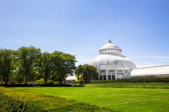 Jardín botánico de Nueva York Imagen de archivo